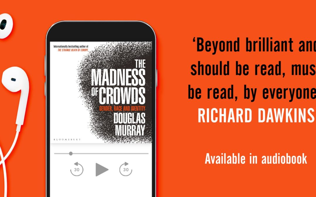 THE MADNESS OF CROWDS NOMINATED FOR AUDIO BOOK OF THE YEAR